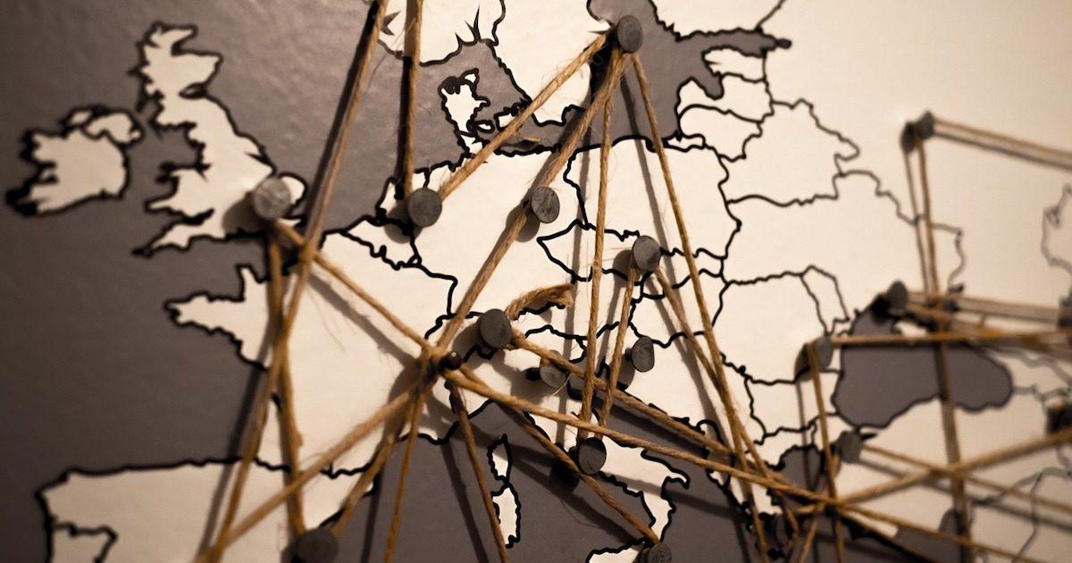 Share My Location world map