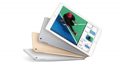 The new 9.7-inch iPad (left) and 9.7-inch iPad Pro (right) are more similar than different.