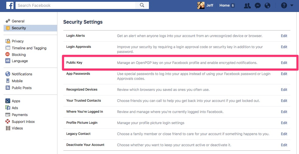 Enabling Public Key to Make Facebook the New Web of Trust - Step 2
