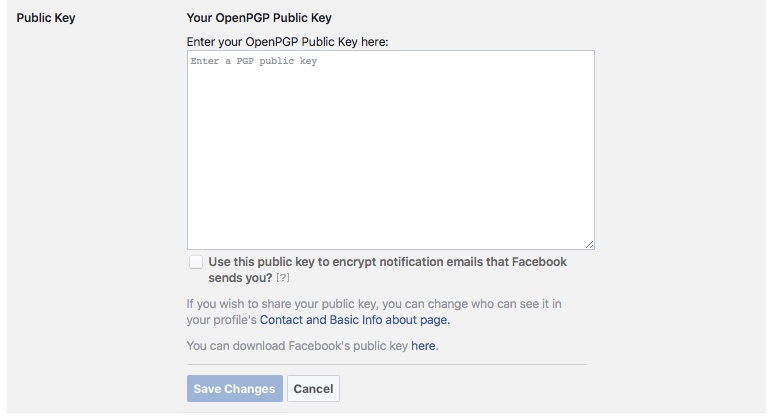 Enabling Public Key to Make Facebook the New Web of Trust - Step 3