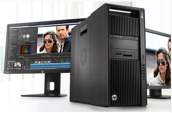 HP Z840 workstation.