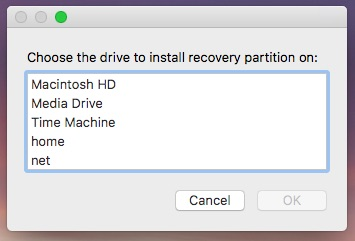 Recovery Partition Creator step 3