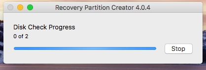 Recovery Partition Creator step 6