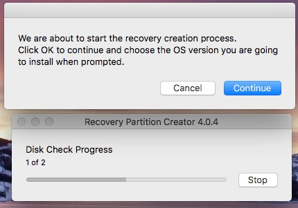macOS: Putting a Recovery Partition on Your Mac (Without