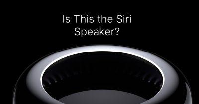 A Siri Speaker might look like the Mac Pro