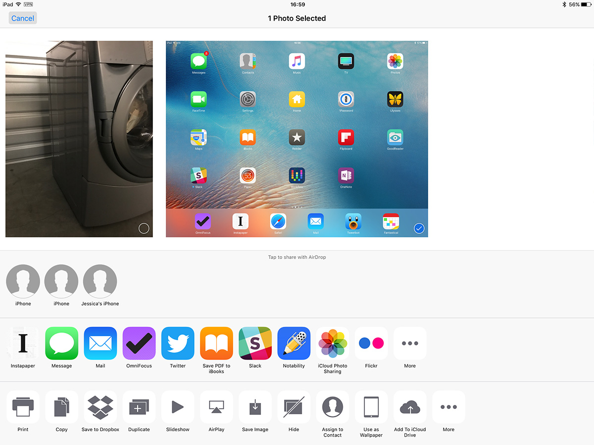 AirDrop shows your device name for file sharing, so iPhone is too generic for your iPhone