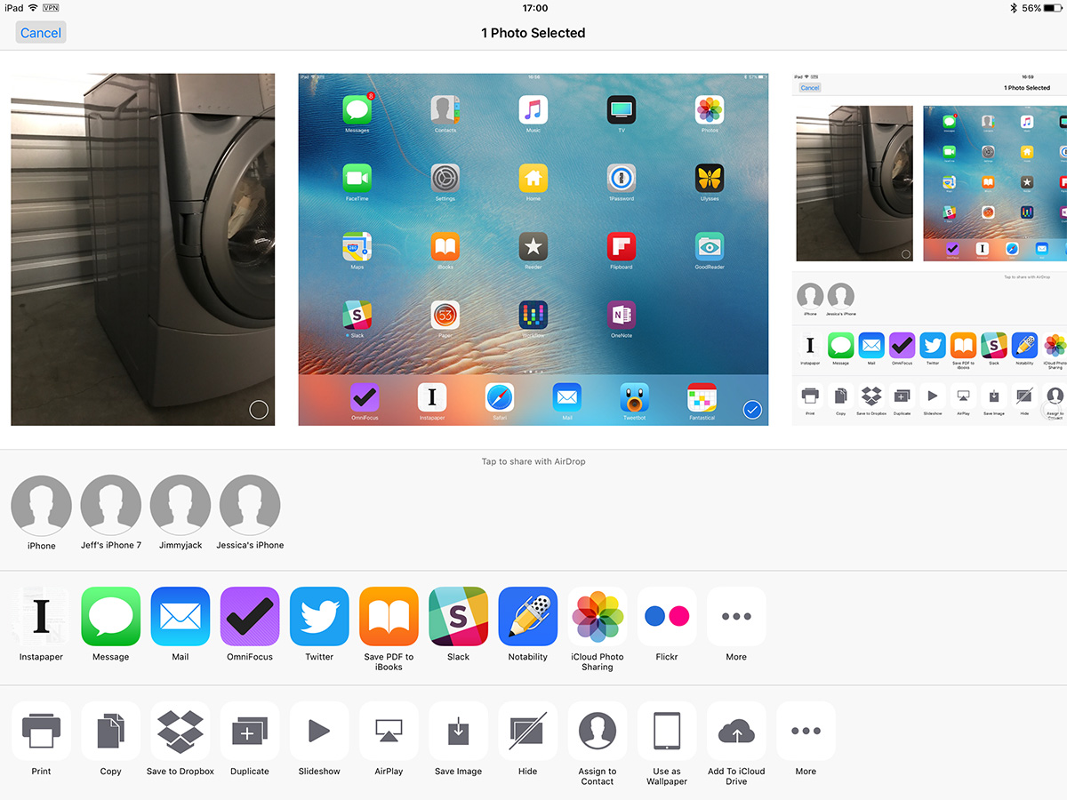 AirDrop shows your device name, so making it unique saves you from sending pics to the wrong person