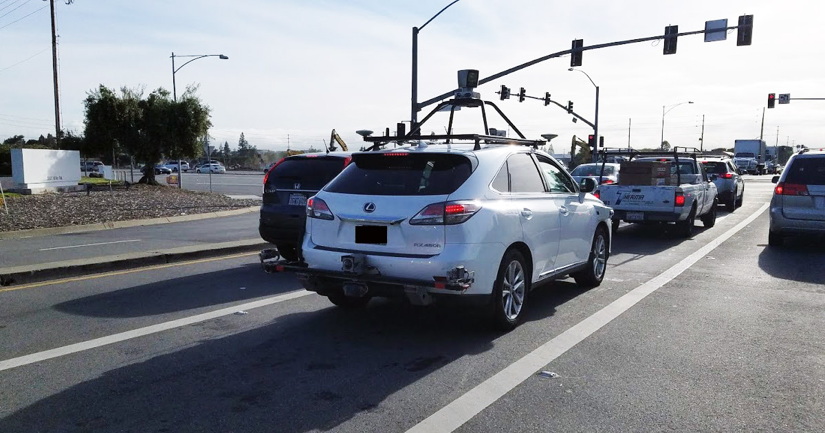 Apple's Using a Lexus for Self-Driving Car Tests