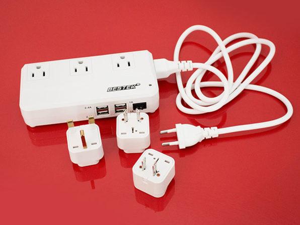 BESTEK Portable International Travel Voltage Converter: $34.99