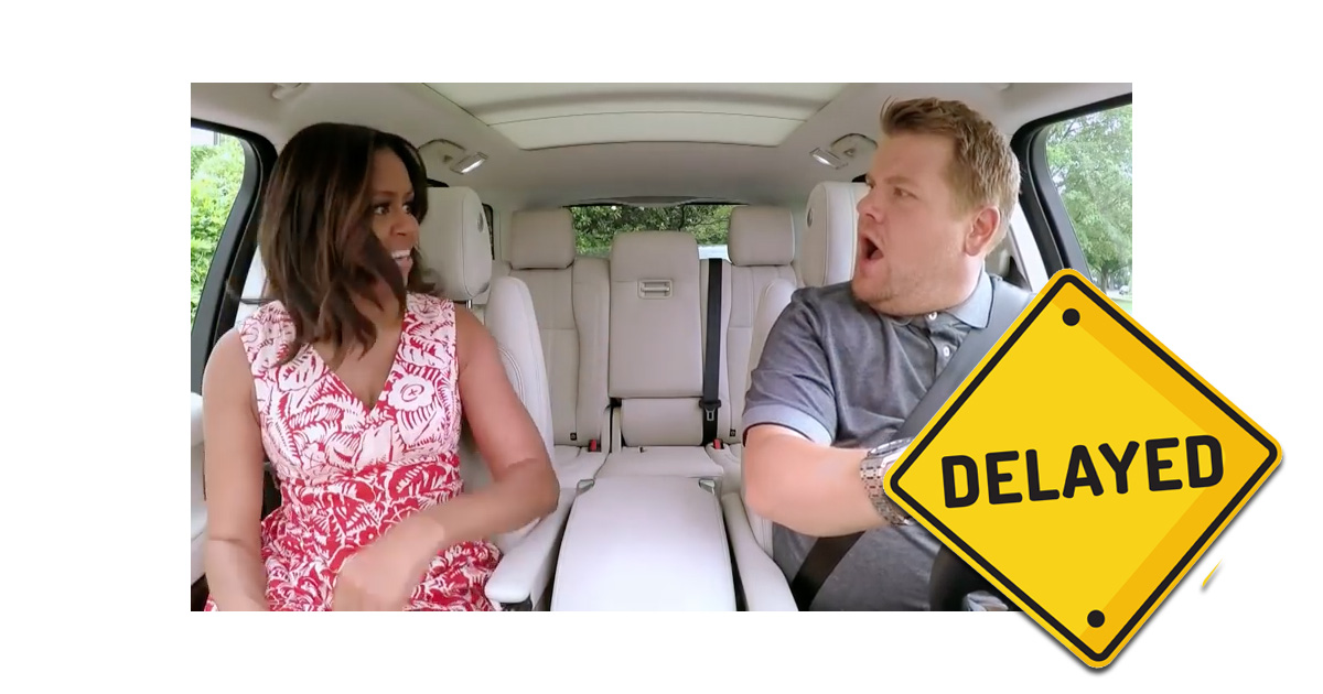 Apple Is Delaying the Release of 'Carpool Karaoke'