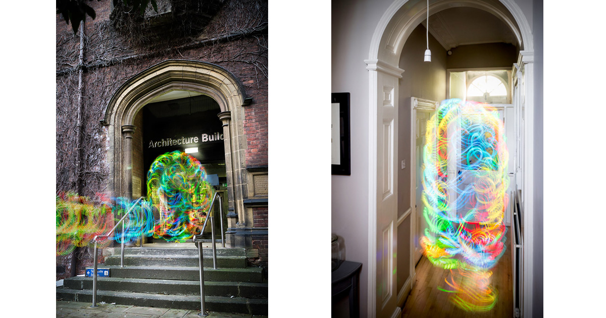 Smartphone WiFi signals come to life as art in Digital Ethereal