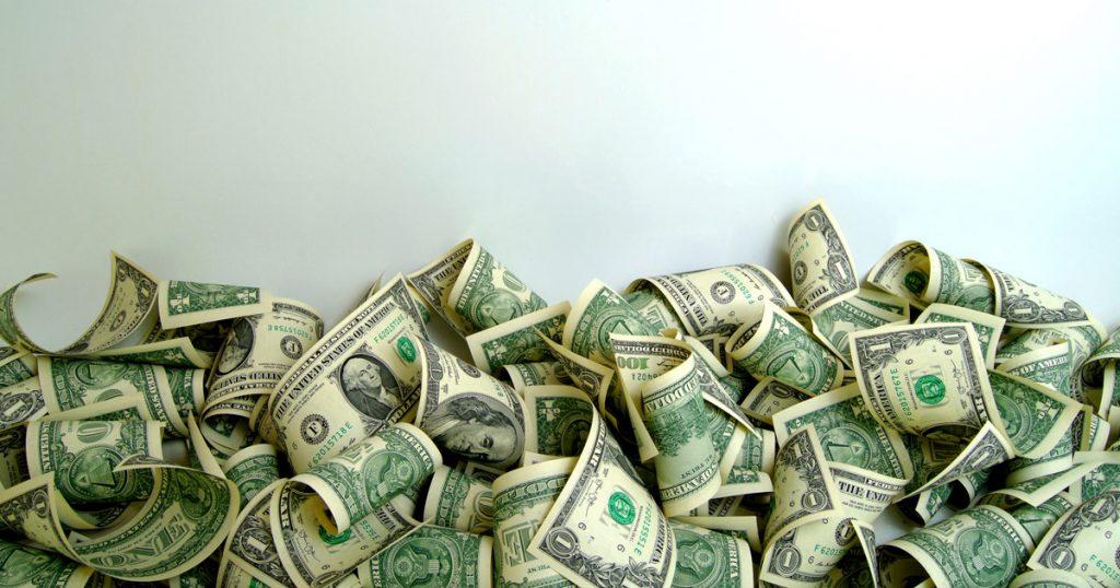 Lots of One Dollar Bills!