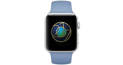 Apple Watch Badge for Earth Day Outdoor Workout