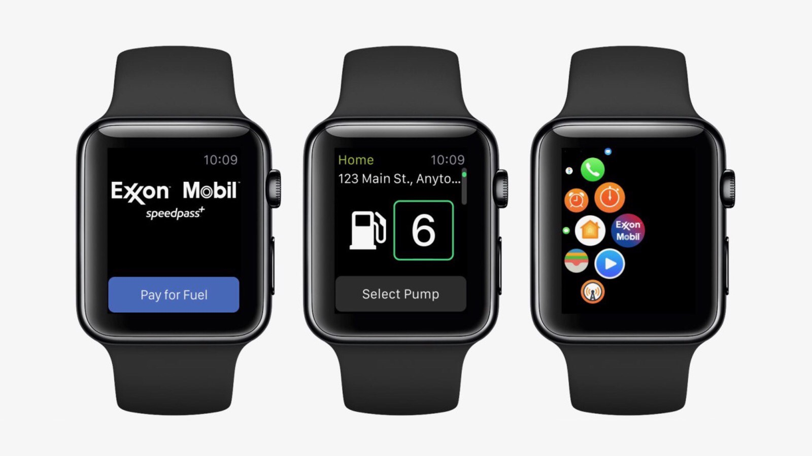 What Speedpass for Apple Watch looks like.