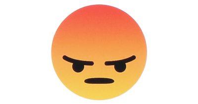 Facebook Angry Emoji