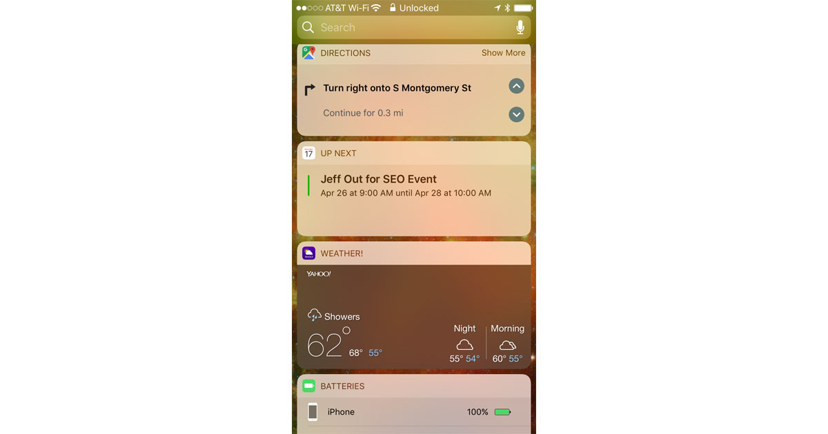 Google Maps for iOS Adds Turn-by-Turn Directions to Lock Screen Widget