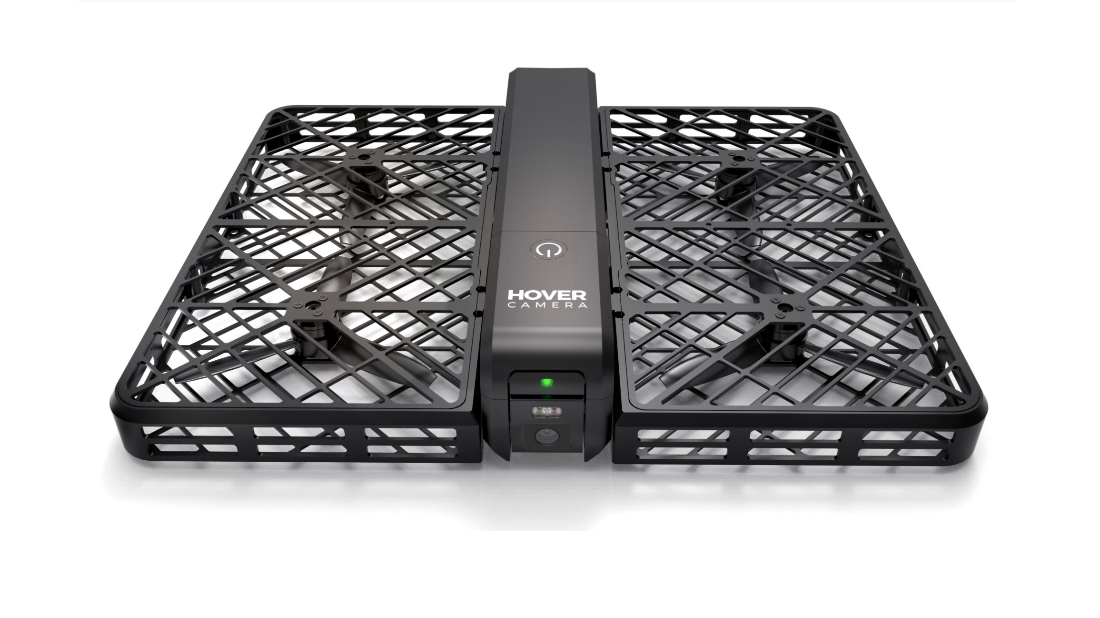 View of hover camera Passport drone