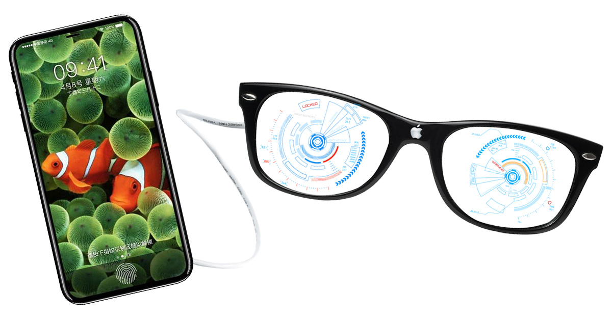 iPhone 8 may sport a smart connector for augmented reality glasses