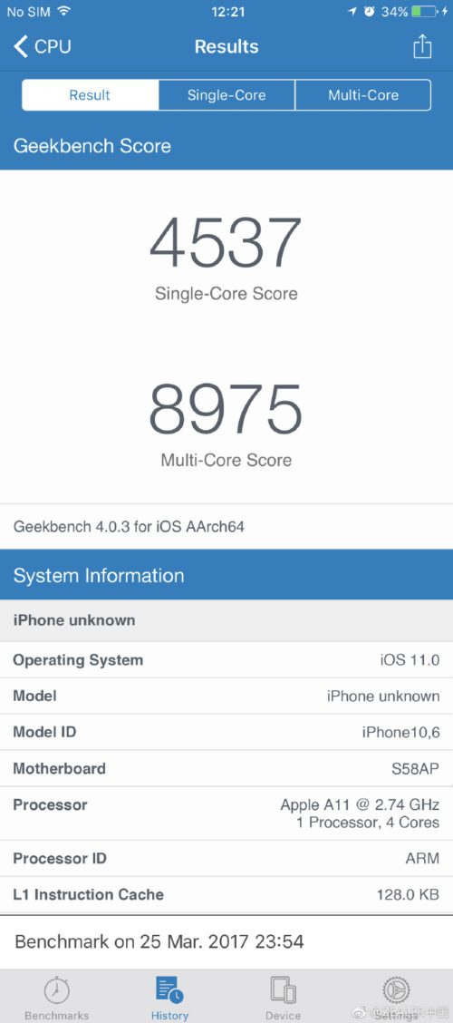 Supposed Geekbench test results show iPhone 8 outperforming Samsung Galaxy S8
