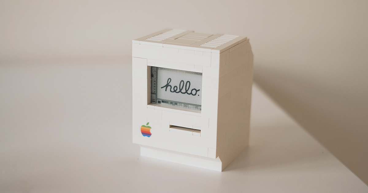 This Working Mac Classic is Really LEGO Bricks and a Raspberry Pi
