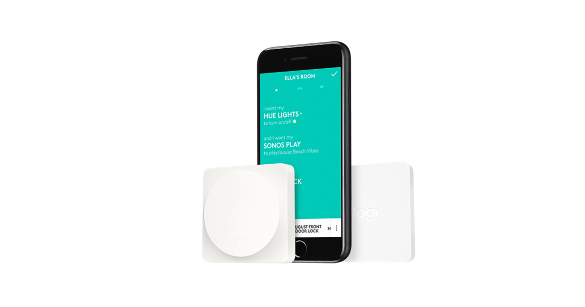 Logitech's POP Buttons Are Now HomeKit Compatible