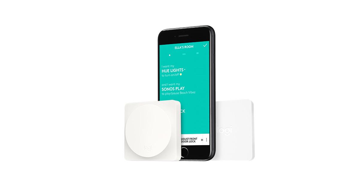 POP Smart Button from Logitech gets HomeKit support