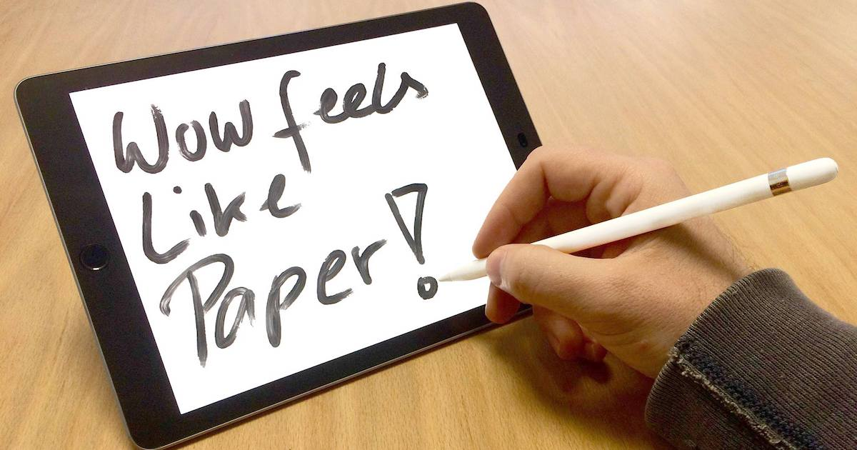 PaperLike, an accessory for iPad Pro with Apple Pencil
