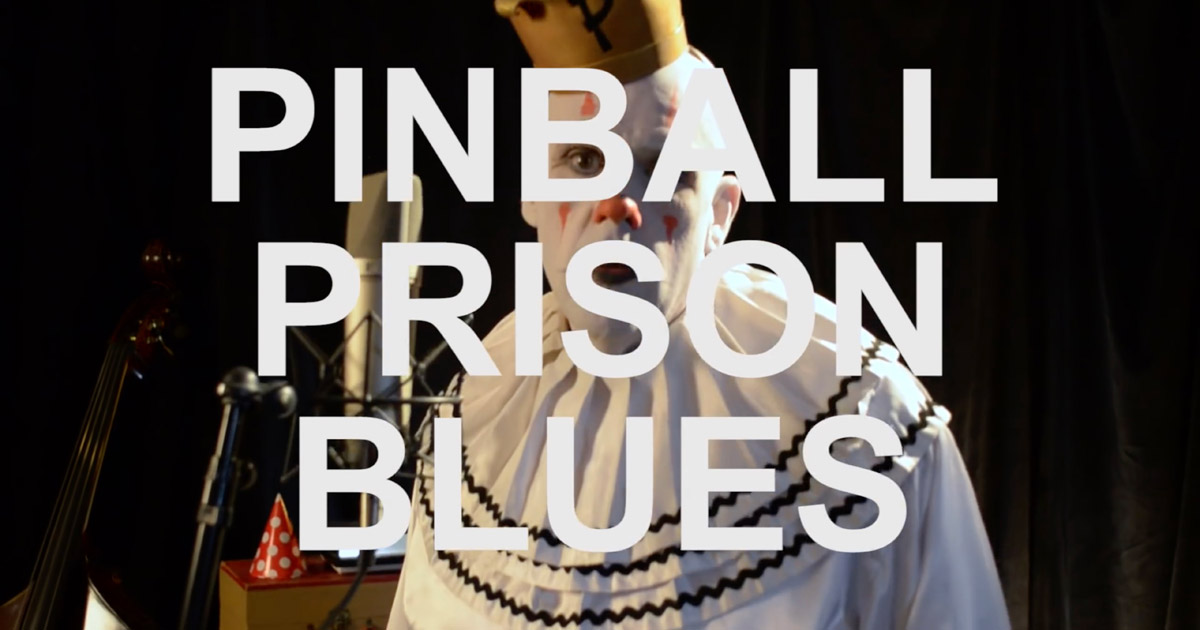 Screenshot from Pinball Prison Blues by Puddles Pity Party