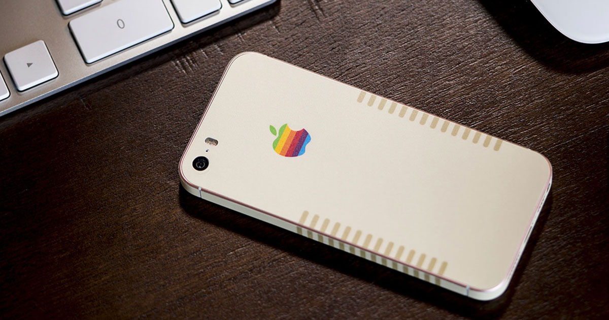Slickwraps Goes Retro with 6-Color Apple Wrap for iPhone