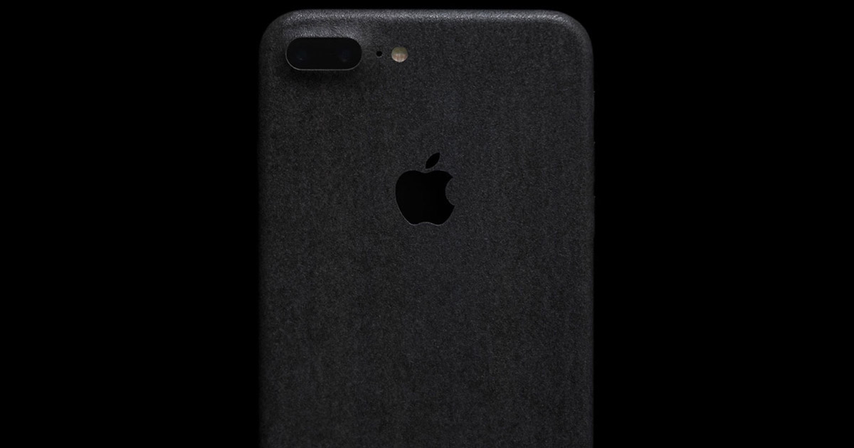 Slate Wrap for iPhone, a Study in Textured Black