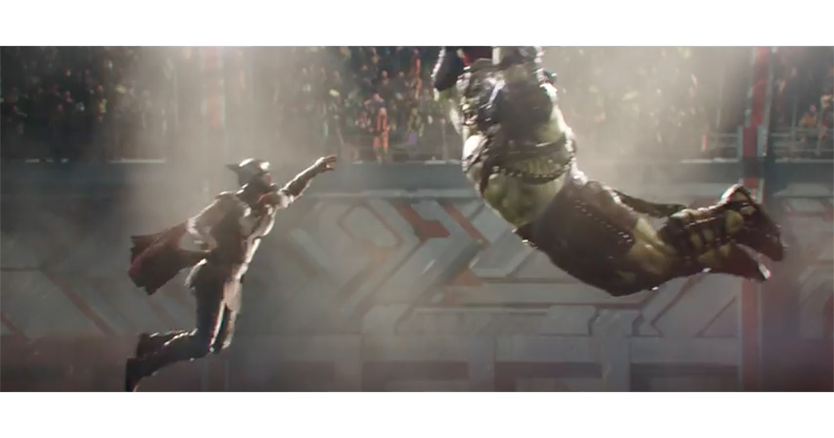 Thor: Ragnarok teaser trailer with Hulk