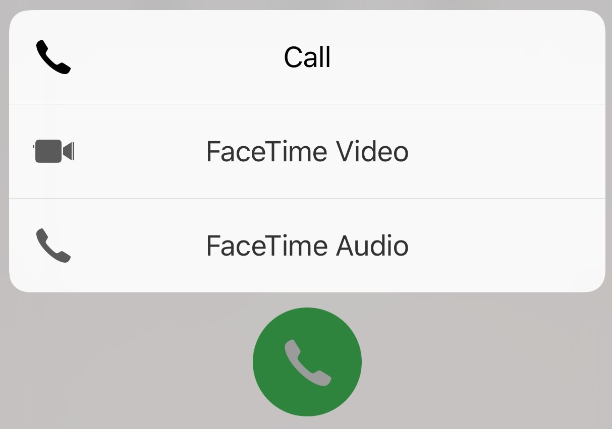3D Touch Call