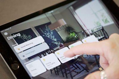 Control HomeKit houses in Apple's Home app.