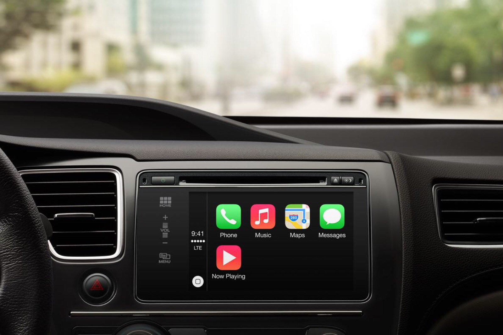 Ford CarPlay is here for 2016 models.
