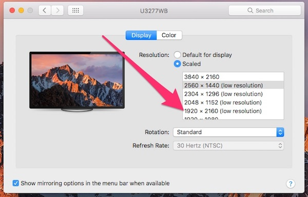 macOS: Finding the Hidden Advanced Display Preferences - The Mac