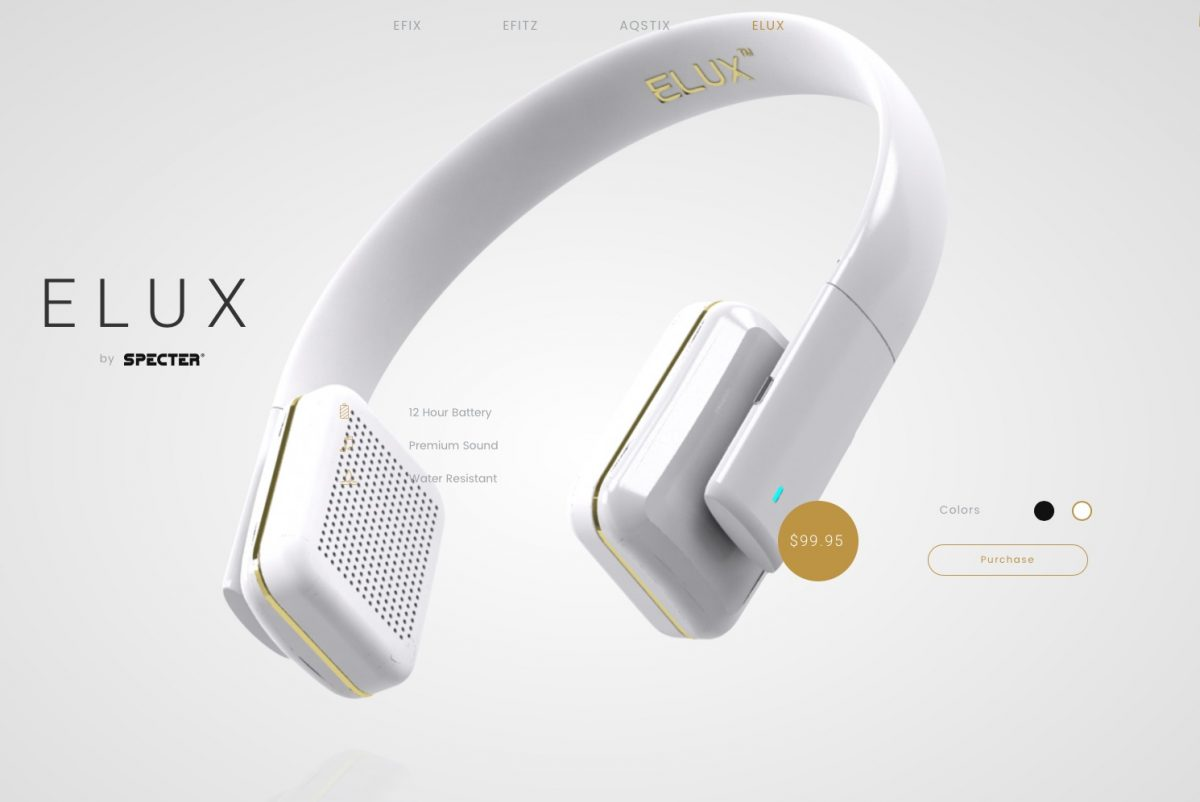 ELUX by Specter Wireless look good; sound good; and are quite comfortable.