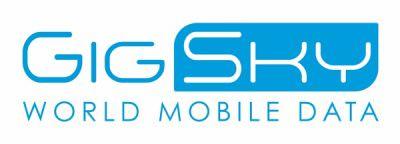 GigSky Logo with World Mobile Data tagline