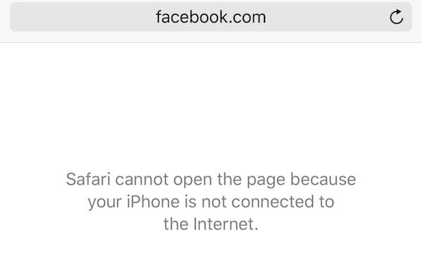 A broken public Wi-Fi hotspot might show this