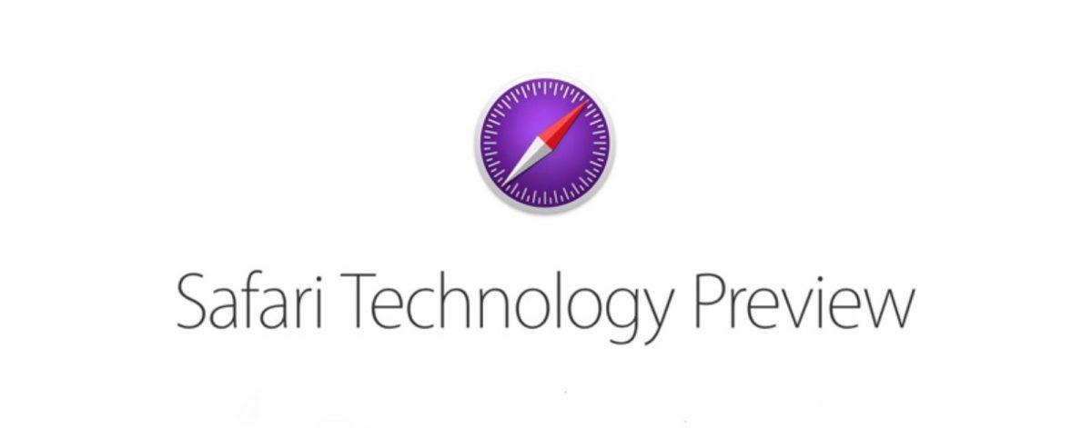 Safari Technical Preview