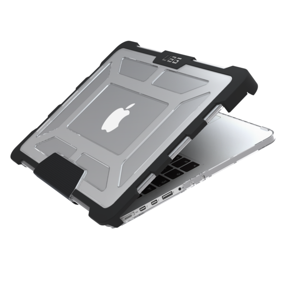 The Urban Armor Gear ICE case protect your notebook from dings and scratches, and also from drops.