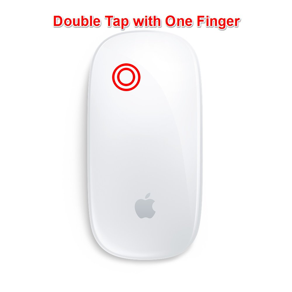 Magic Mouse Mac Gestures - Smart Zoom