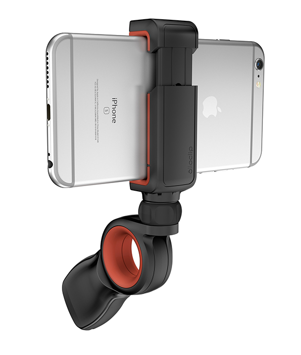 The Pivot Mobile Grip is awesome for shooting video from otherwise awkward angles.