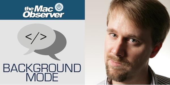 Background Mode Logo and Dave Hamilton.