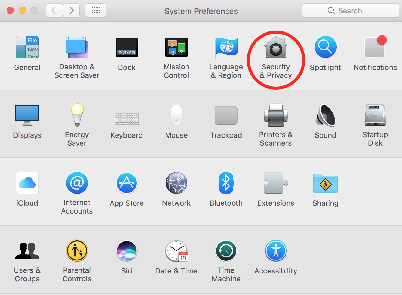 Use the Security & Privacy settings in System Preferences to add a password to your Mac