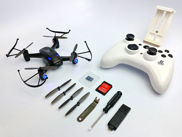 Aerix Black Talon 2.0 Micro FPV Beginner Racing Drone: $99.99