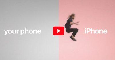 Still from Apple's Jump Commercial