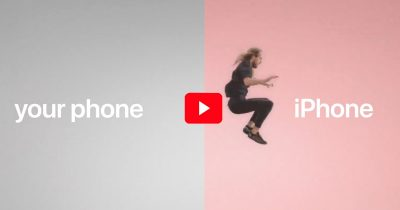 Still from Apple's Jump Commercial