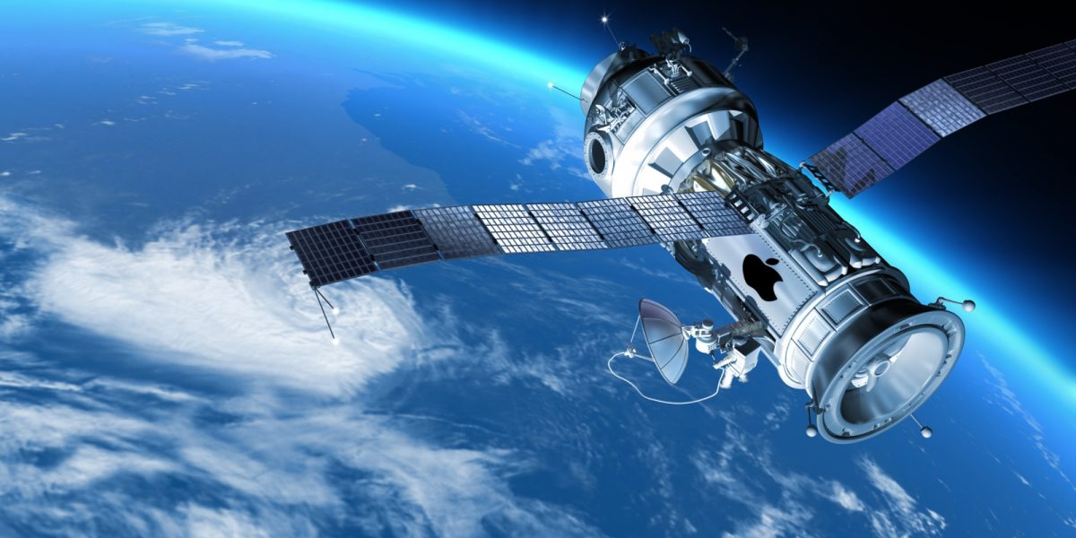 Concept image of a satellite that could beam down 5G Wi-Fi.