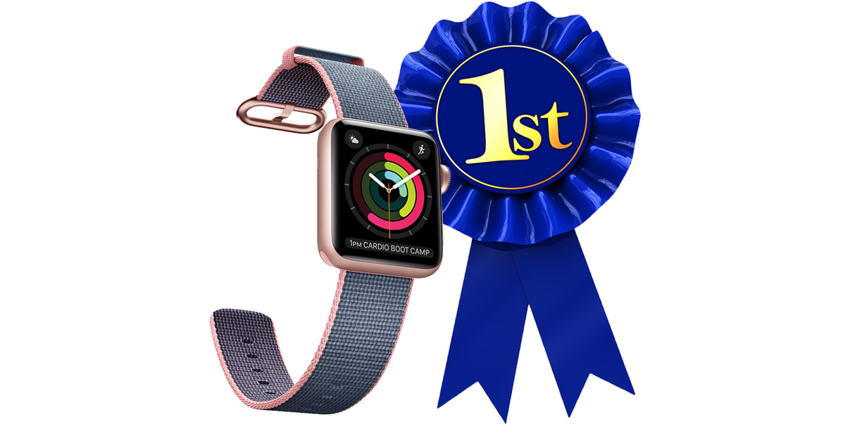 Apple Watch topples Fitbit in Q1 sales hit 3.5 million