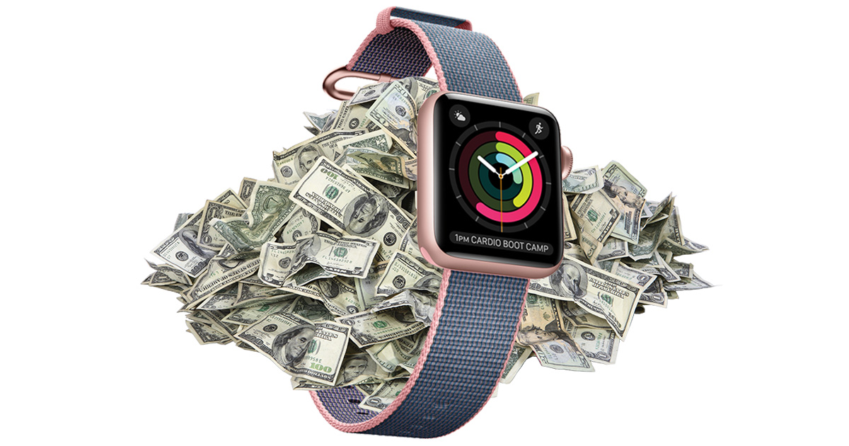 Apple Watch quarterly sales are on the rise